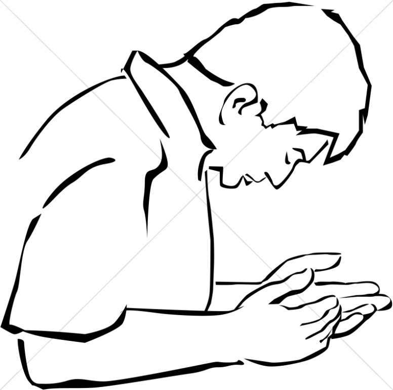 Brothers praying together clipart black and white graphic black and white stock Prayer Group in Black and White | Prayer Clipart graphic black and white stock