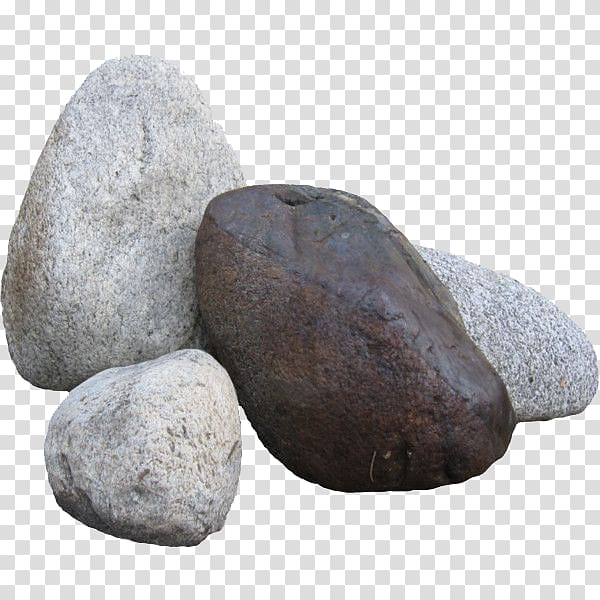 Brown and grey rocks clipart jpg free One brown and three gray stones , Rock Computer Icons , stones and ... jpg free