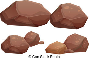 Brown and grey rocks clipart graphic library library Rock Clipart and Stock Illustrations. 121,481 Rock vector EPS ... graphic library library