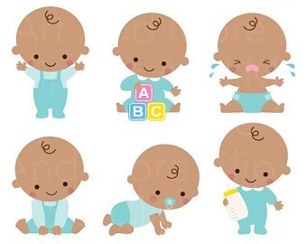 Brown baby clipart clipart stock Brown baby clipart 2 » Clipart Portal clipart stock