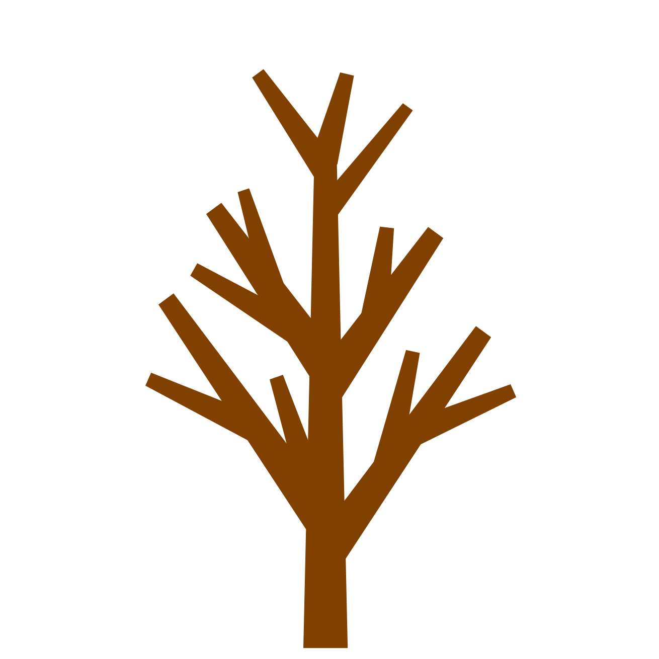 Brown tree clipart jpg free 28+ Collection of Brown Tree Without Leaves Clipart | High quality ... jpg free