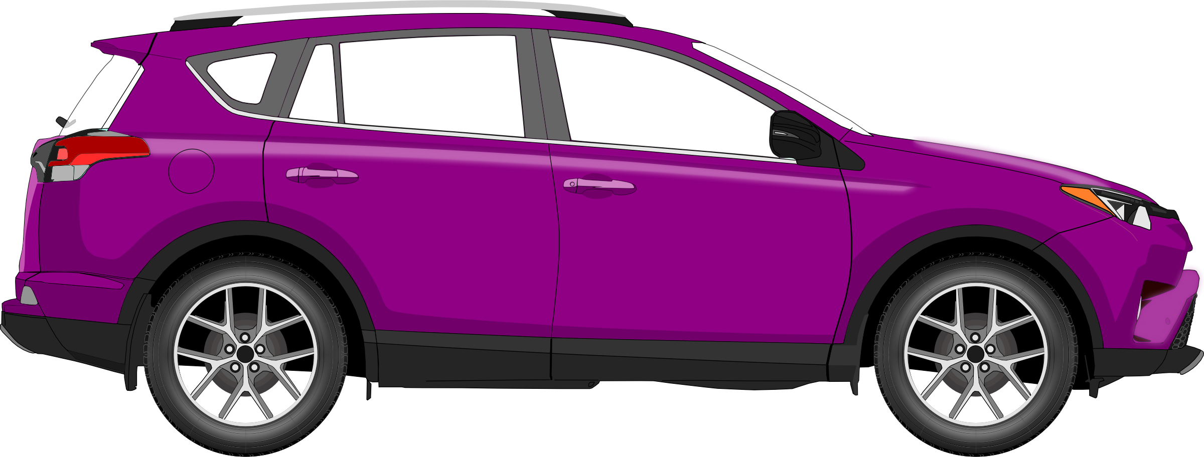 Brown car clipart clip freeuse Clipart - Car 14 (purple) clip freeuse