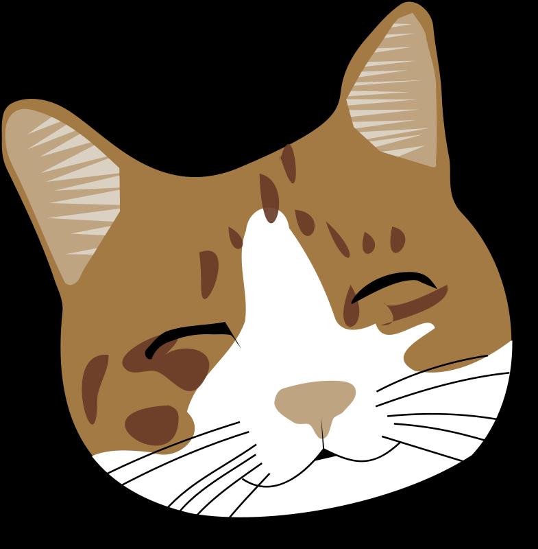 Brown cat clipart jpg transparent download Free cliparts: Smiling cat Clipart jpg transparent download