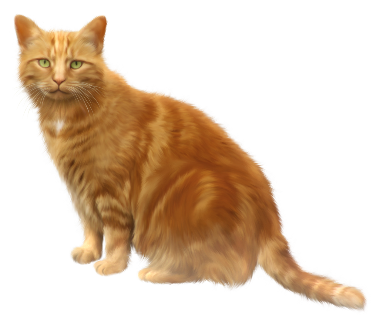 Brown cat clipart picture royalty free library Orange Cat Transparent PNG Clipart | Gallery Yopriceville - High ... picture royalty free library