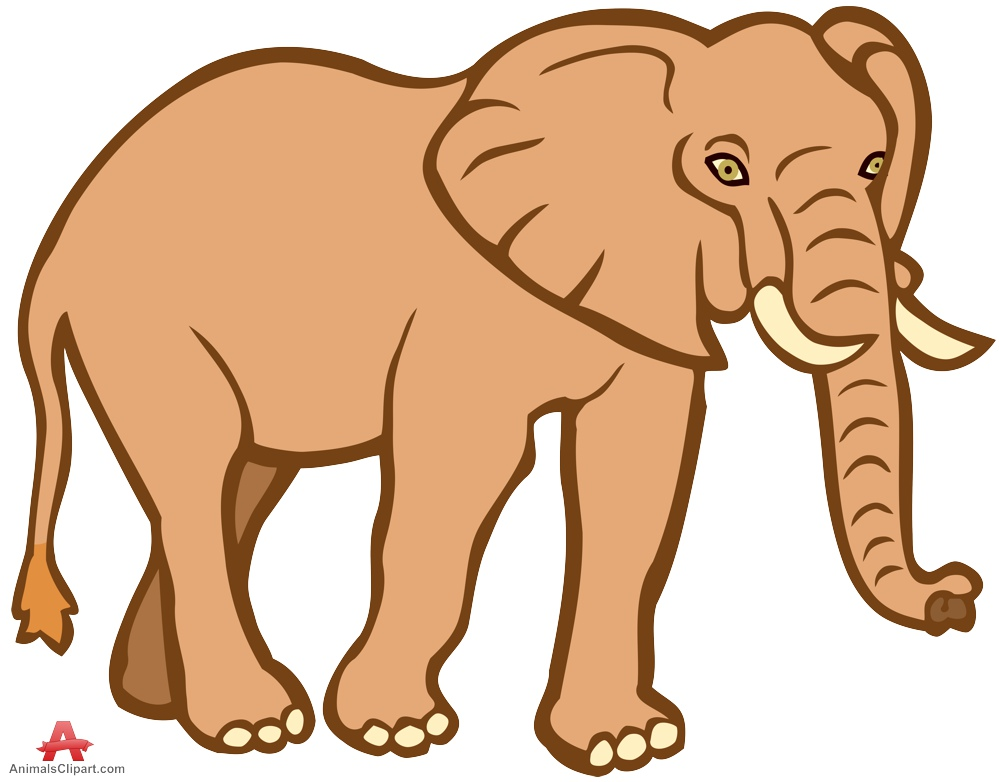 Brown clipart elephant vector royalty free library Elephant clipart free design download – Gclipart.com vector royalty free library