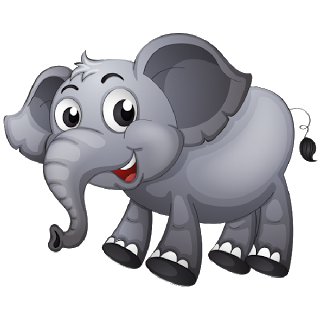 Brown clipart elephant free Brown Baby Elephant Clip Art Images. All Images Are On A Transparent ... free