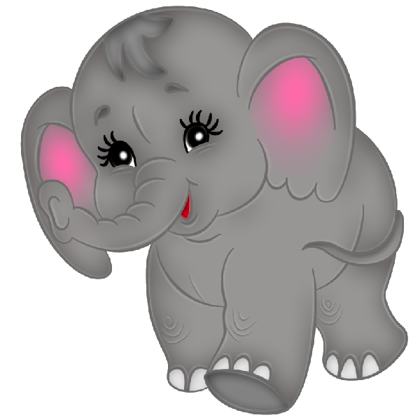 Brown clipart elephant svg free Brown Baby Elephant Clip Art Images. All Images Are On A Transparent ... svg free
