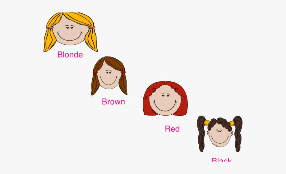 Brown color cartoon clipart picture royalty free download Colours Clipart Hair - Clip Art Hair Color, Cliparts & Cartoons ... picture royalty free download