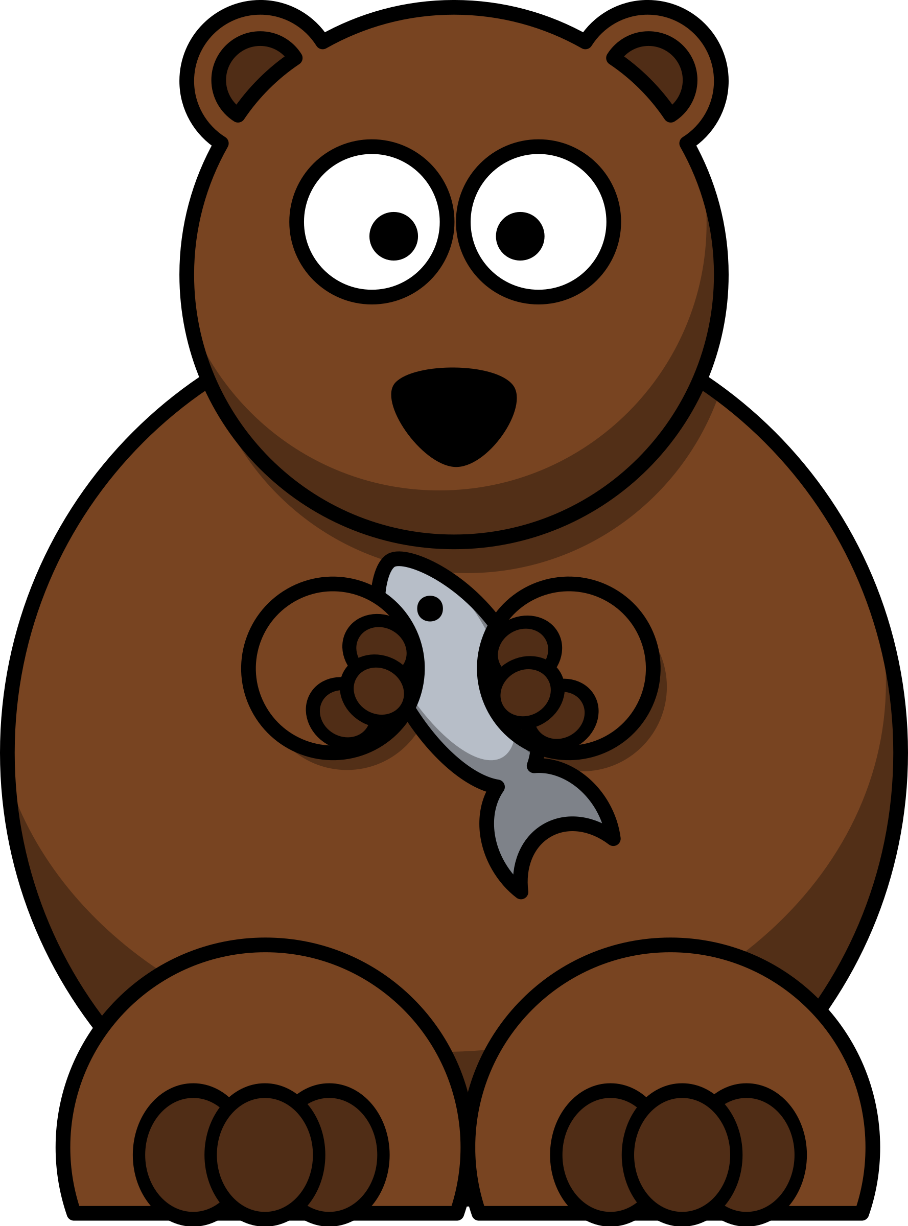 Turkey clipart 1080px png freeuse download Clipart - Cartoon bear png freeuse download