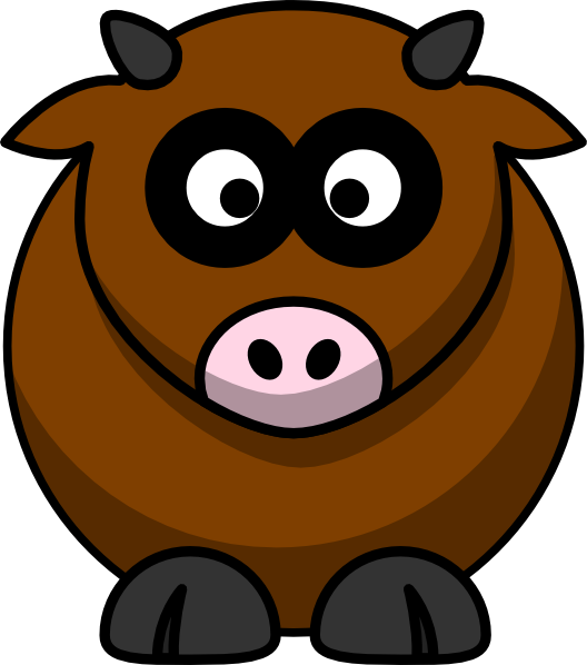 Brown fish clipart clip library Brown Cow Clip Art at Clker.com - vector clip art online, royalty ... clip library