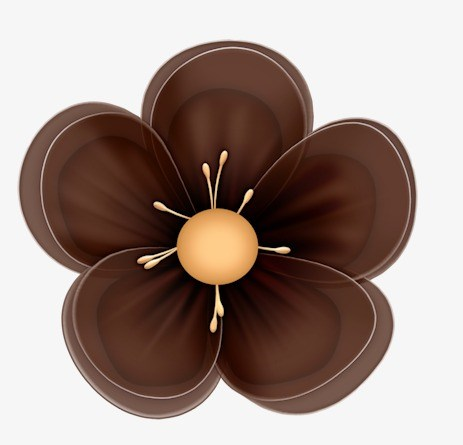 Brown flower clipart graphic stock Brown flower clipart 3 » Clipart Portal graphic stock