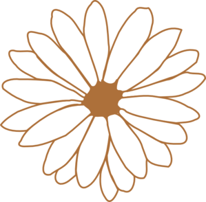 Brown flower clipart png royalty free Brown Flower PNG, SVG Clip art for Web - Download Clip Art, PNG Icon ... png royalty free