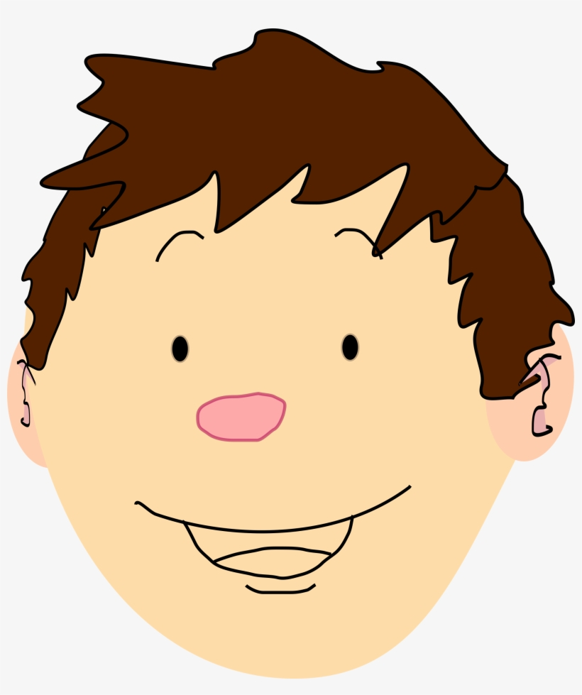 Boy with brown hair clipart picture library library Brown Hair Clipart Boy Head - Boy Brown Hair Cartoon - Free ... picture library library