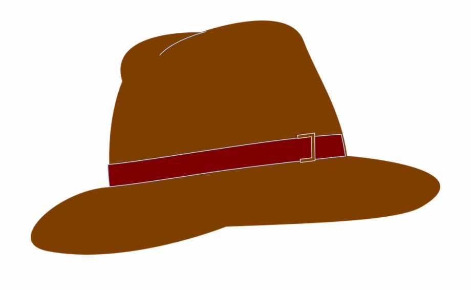 Brown hat clipart svg royalty free stock Fedora Images - Brown Hat Clipart - detective hat png, Free PNG ... svg royalty free stock
