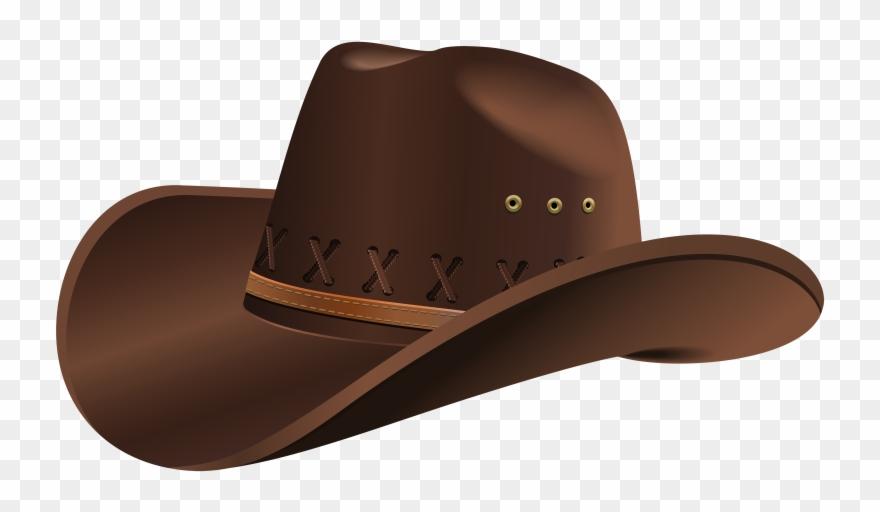 Brown hat clipart svg transparent download Straw Hat Clipart Cowboy Outfit - Cowboy Hat Clipart Png Transparent ... svg transparent download