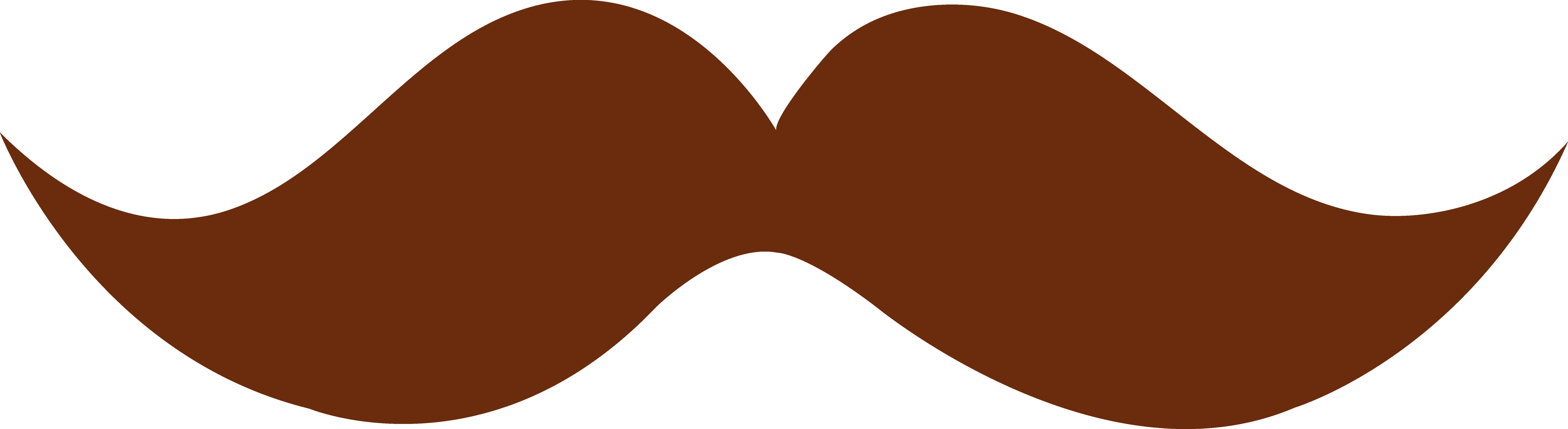 Brown heart clipart download Brown Moustache Design - Free Clip Art download