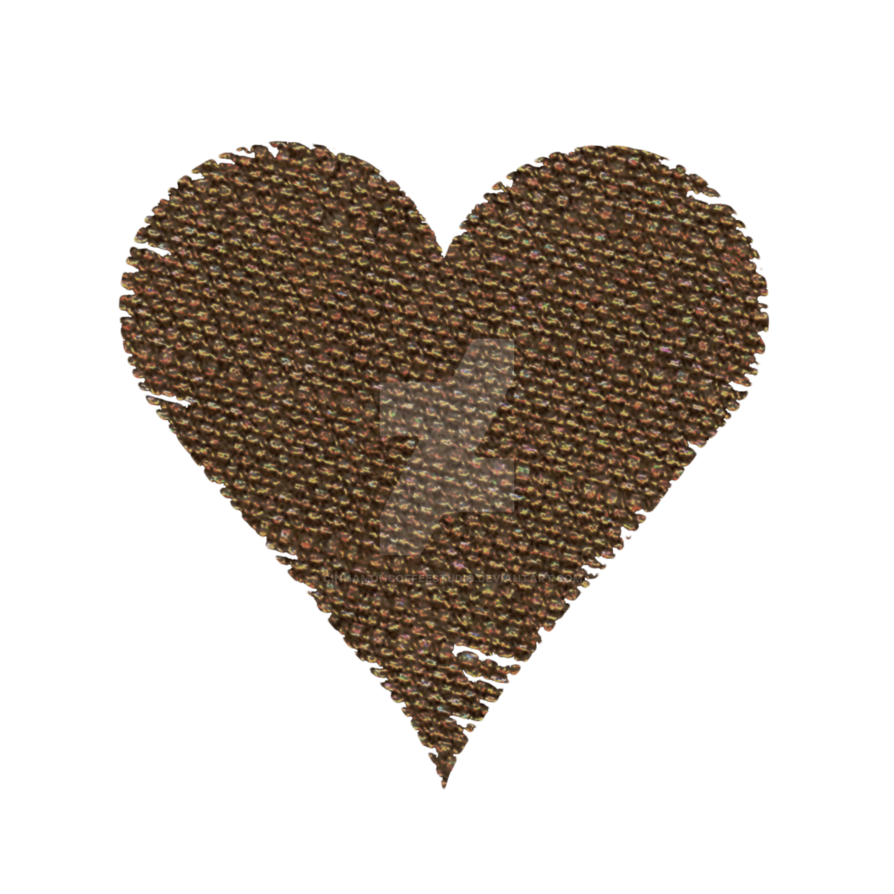 Brown heart clipart png library stock Burlap Heart Clipart by CinnamonCoffeeStudio on DeviantArt png library stock