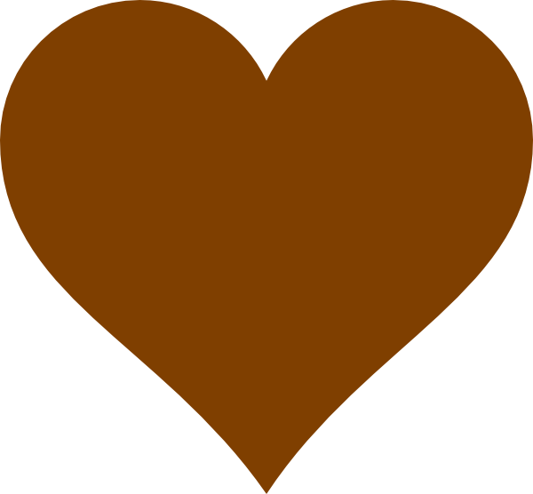 Heart chocolate clipart clipart library Chocolate Heart Clip Art at Clker.com - vector clip art online ... clipart library