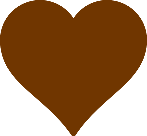 Heart clipart science vector freeuse stock Brown Heart Clip Art at Clker.com - vector clip art online, royalty ... vector freeuse stock