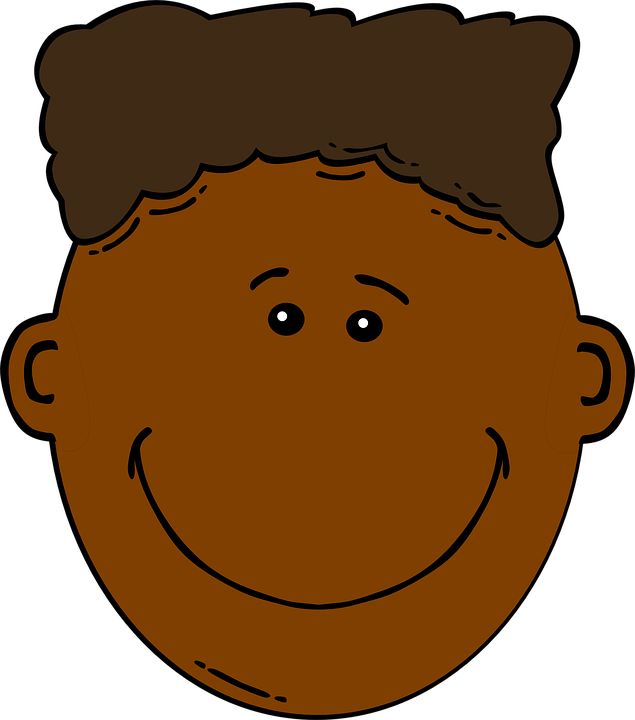 Brown kid clipart graphic free stock Brown Hair Clipart   Free download best Brown Hair Clipart on ... graphic free stock