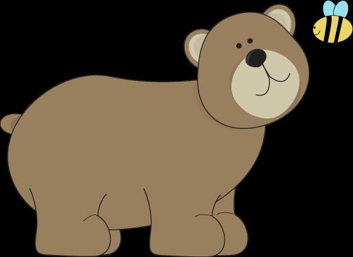 Clipart b brown jpg black and white stock Brown Bear Clipart Cute Kid - Clipart1001 - Free Cliparts jpg black and white stock