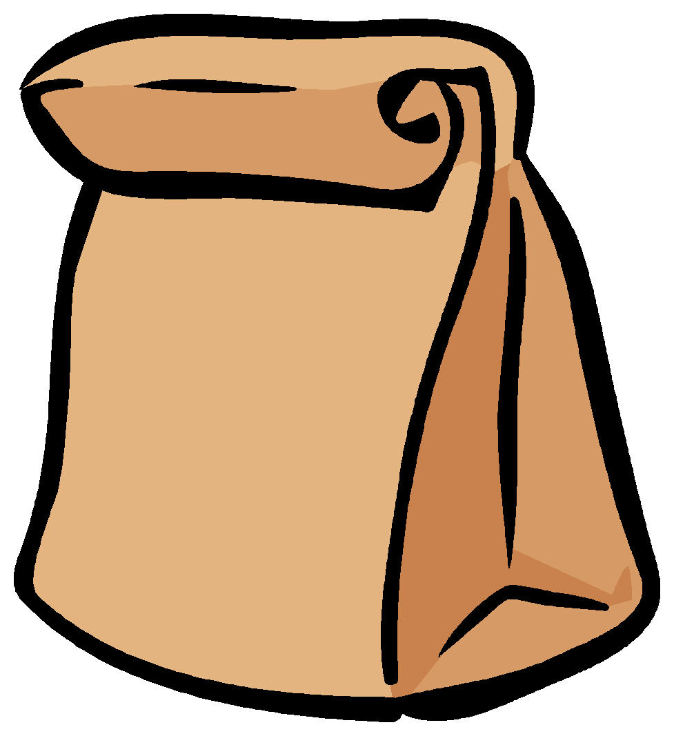 Paper bags clipart png stock Best Lunch Bag Clipart #20355 - Clipartion.com png stock