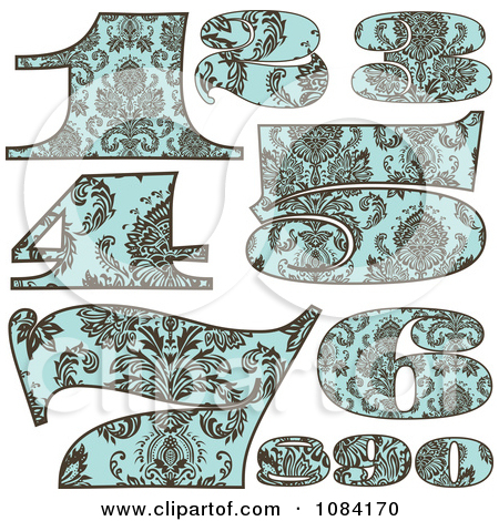 Brown number 1 clipart png stock Royalty-Free (RF) Clipart of Vintage Numbers, Illustrations ... png stock