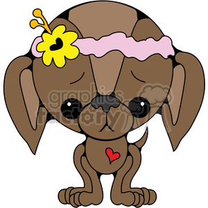 Brown puppy clipart clip art freeuse brown puppy clipart. Royalty-free clipart # 387405 clip art freeuse