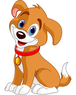 Brown puppy clipart png stock Brown and White Smiling Clip Art Dog - Dog Pictures png stock