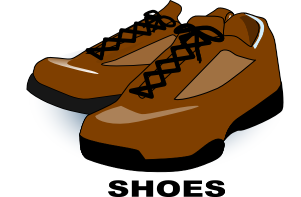 Work shoe men clipart svg freeuse library Brown Shoes Clip Art at Clker.com - vector clip art online, royalty ... svg freeuse library