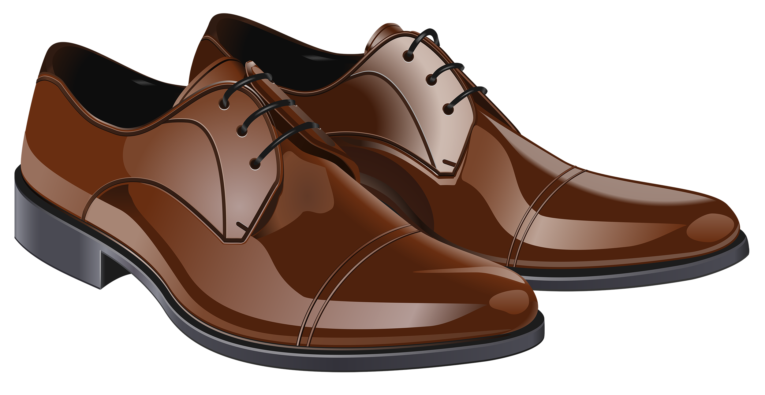 Shoes for men clipart png freeuse library Brown Men Shoes PNG Clipart - Best WEB Clipart png freeuse library