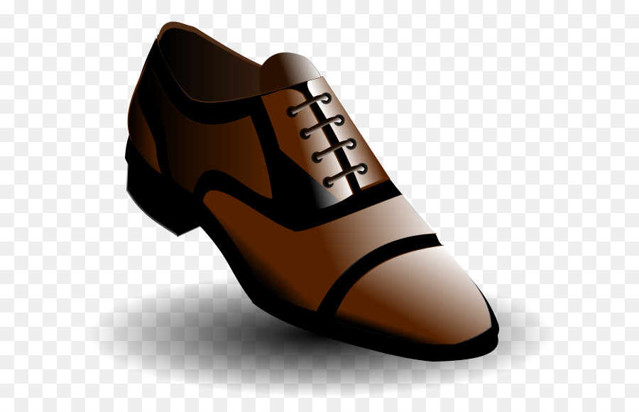 Brown shoe clipart clip art transparent library brown and black shoes clipart Shoe Footwear clipart - Clothing ... clip art transparent library
