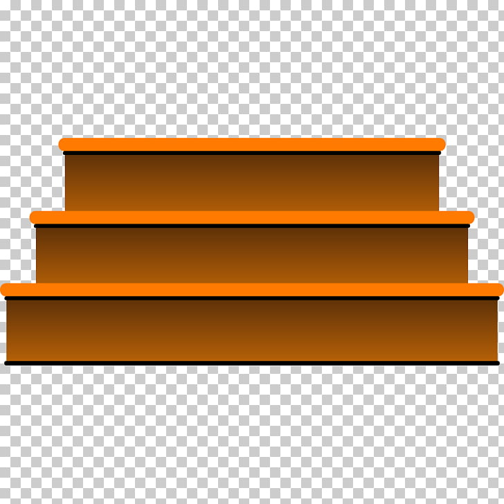Brown stairs clipart vector transparent Euclidean Stairs u53f0u9636, Stairs, brown platform illustration PNG ... vector transparent
