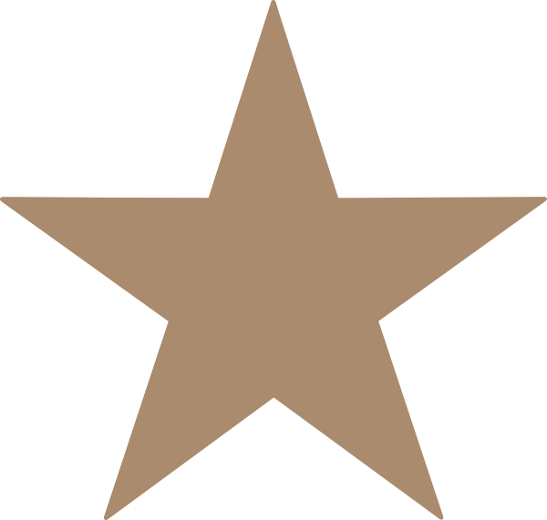 Brown star clipart clip royalty free stock Light Brown Star Clip Art at Clker.com - vector clip art online ... clip royalty free stock