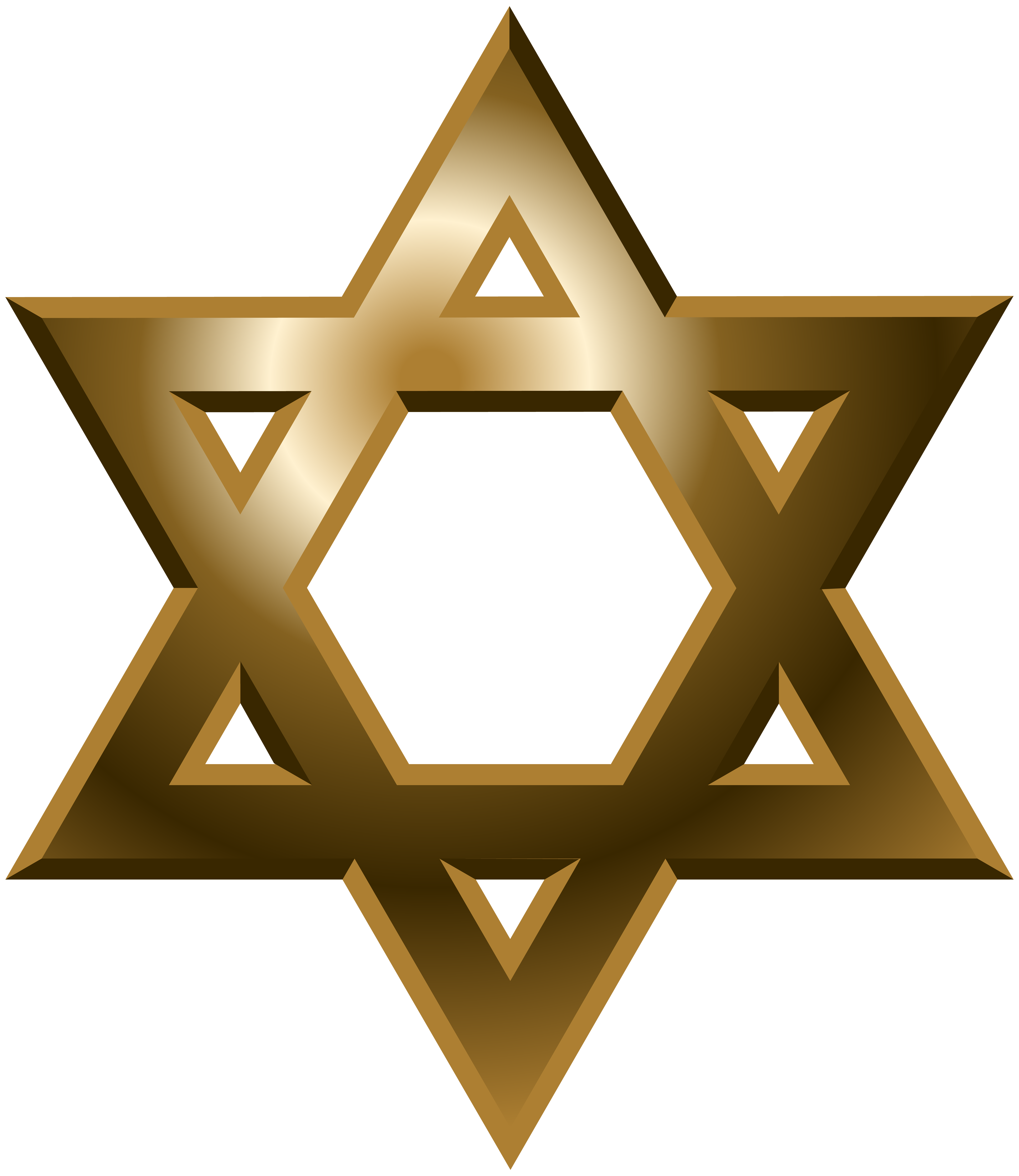 Clipart gold star clipart freeuse stock Star of David PNG Clip Art - Best WEB Clipart clipart freeuse stock