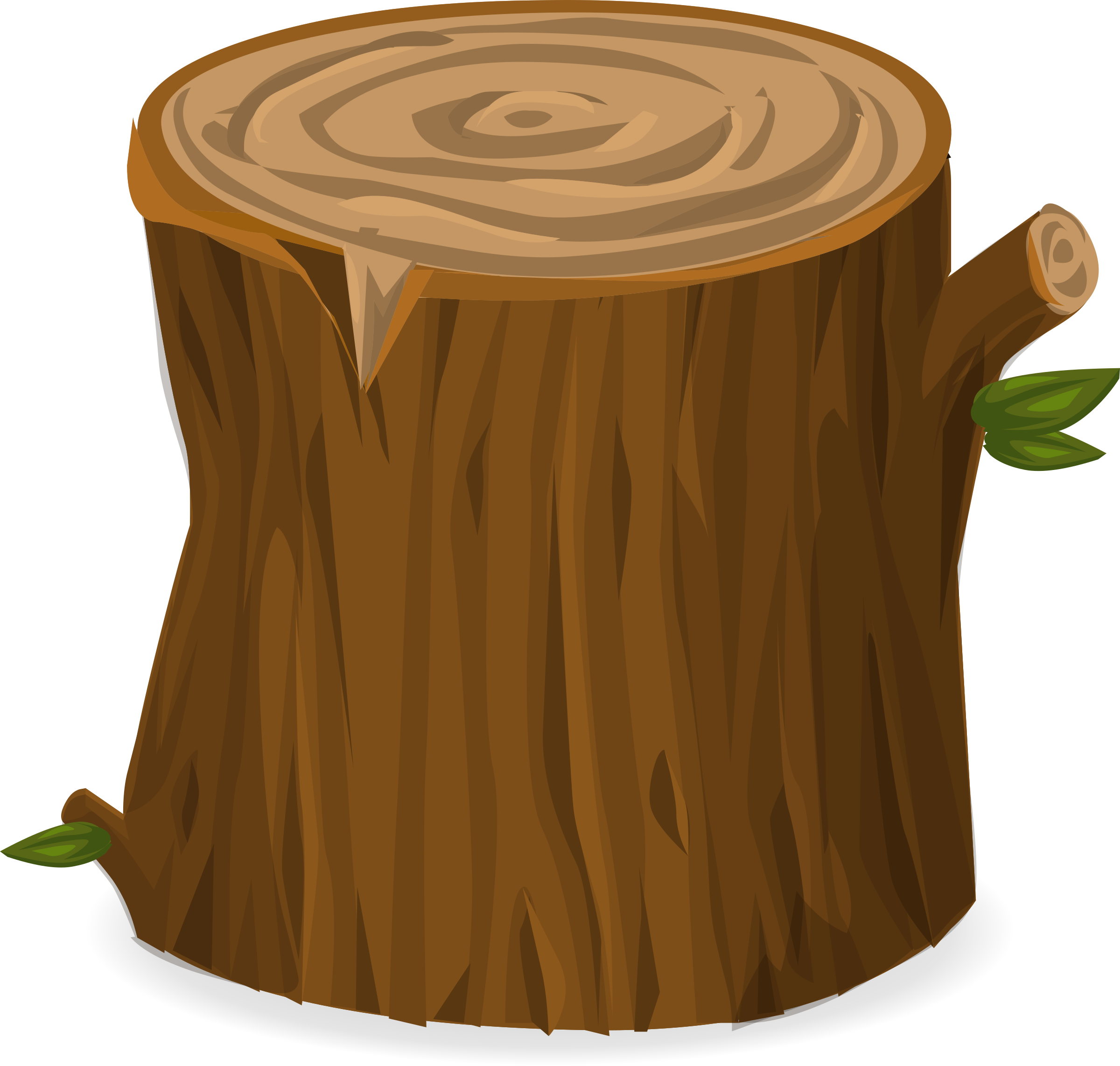 Brown tree trunk clipart picture freeuse Clipart - Tree stump from Glitch picture freeuse