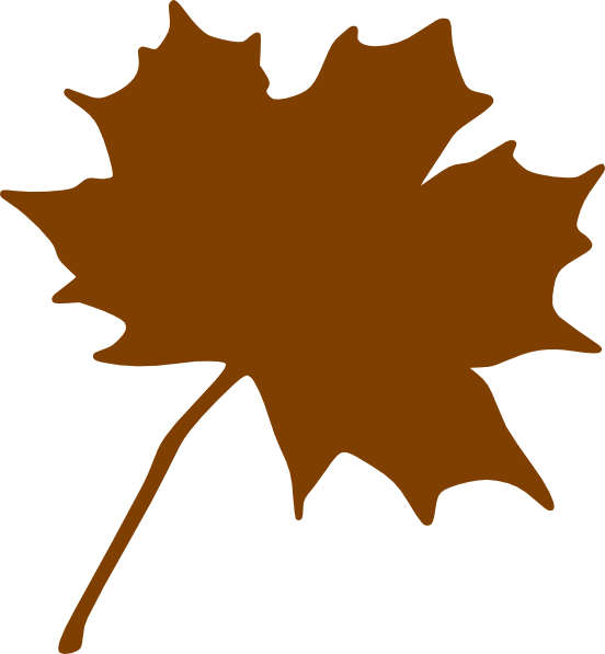 Brown tree without leaves clipart picture library stock Brown Leaf Clip Art at Clker.com - vector clip art online, royalty ... picture library stock
