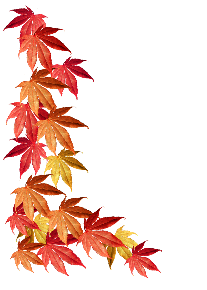 Tree with red yellow and green leaves clipart picture transparent stock Autumn Clipart picture transparent stock