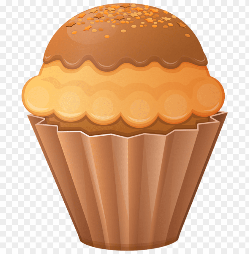 Browncupcake clipart transparent library Download brown cupcake clipart png photo | TOPpng transparent library