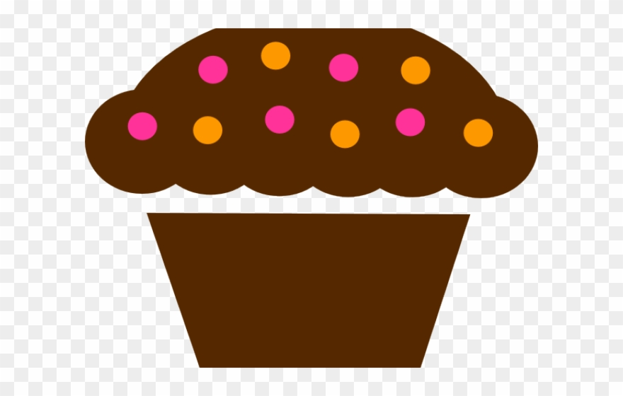 Browncupcake clipart graphic freeuse library Cupcake Clipart Calendar - Transparent Food Icon Grey - Png Download ... graphic freeuse library