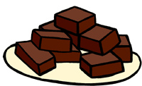 Brownie clipart freeuse library brownies clip art | Clipart Panda - Free Clipart Images freeuse library