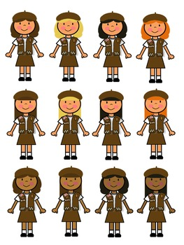 Girl scout brownie logo clipart svg freeuse stock Brownie Girl Scout Clip Art svg freeuse stock