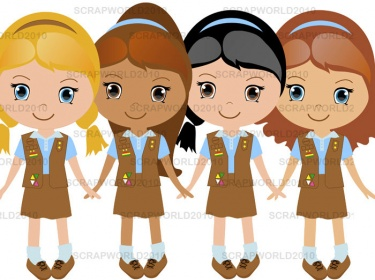 Brownie scout clipart png free library 19+ Girl Scout Brownie Clip Art | ClipartLook png free library