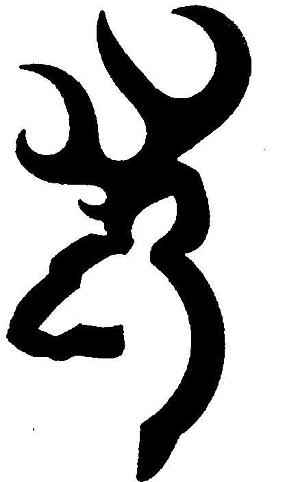 Browning symbol clipart jpg browning symbol Browning deer head drawings clipart diy jpg ... jpg