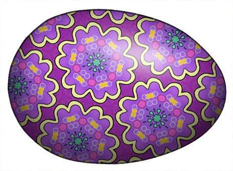 Brownish easter egg clipart. Dark purple clipartfest on