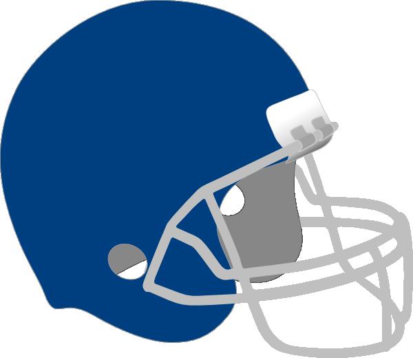 Dark blue helmet clip. Football clipart vector