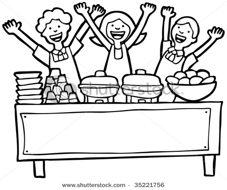Lunch buffet clipart image royalty free library Brunch Clipart | Free download best Brunch Clipart on ClipArtMag.com image royalty free library
