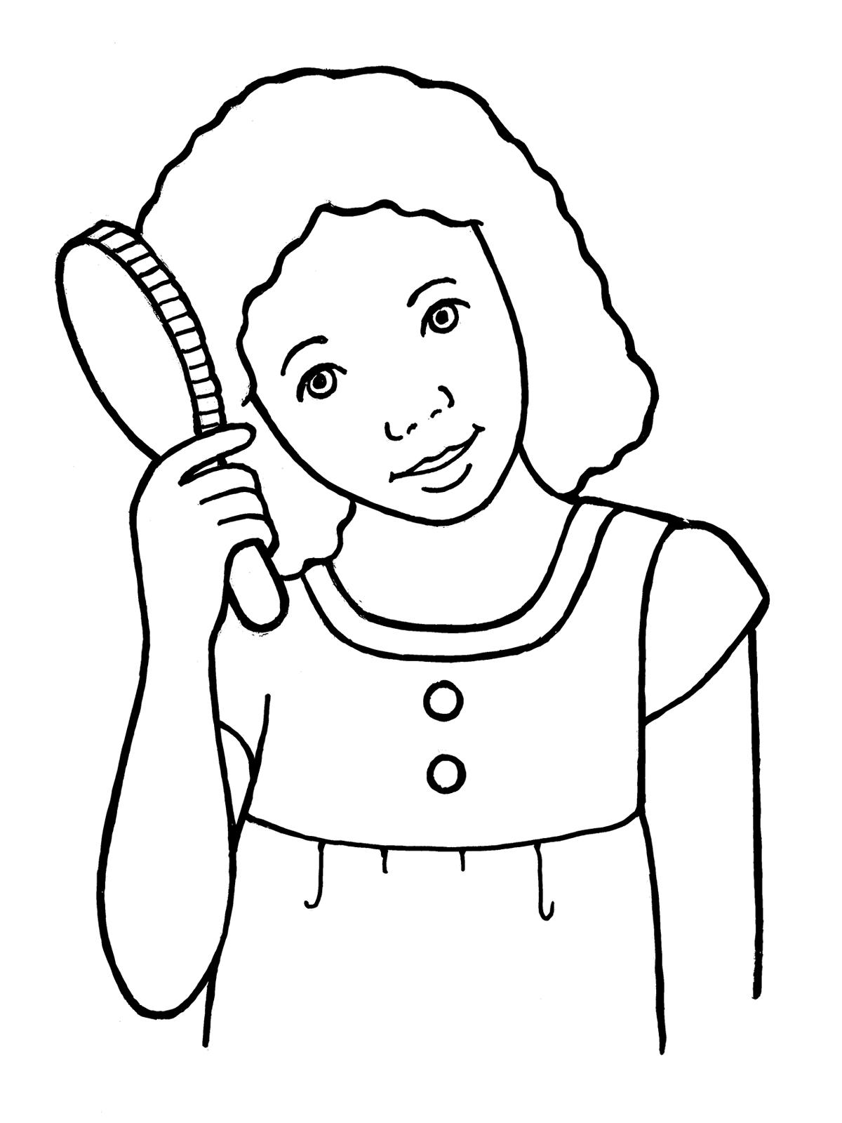 Brush black hair clipart black and white jpg royalty free download Hair Brush Black And White Clipart - Clip Art Library jpg royalty free download
