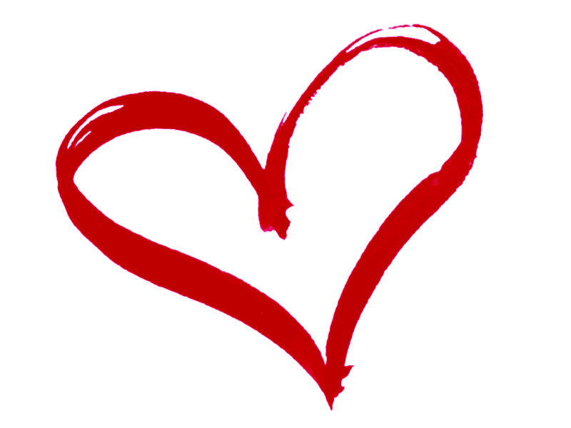 Brush heart clipart vector free download God's Heart | Pinterest | Heart images, Free clipart images and Outlines vector free download
