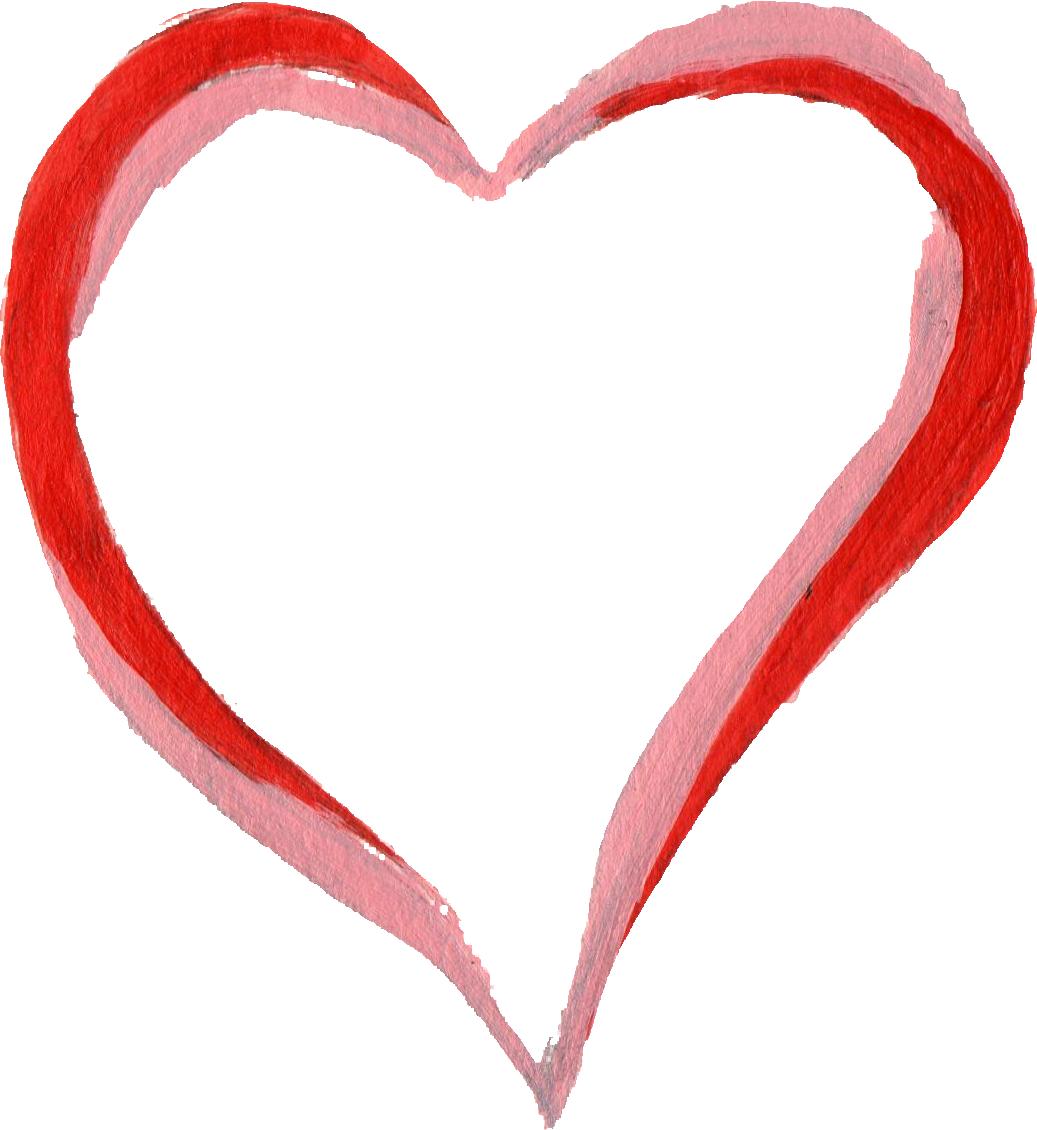 Brush stroke heart clipart jpg library download Hearts clipart brush stroke ~ Frames ~ Illustrations ~ HD images ... jpg library download